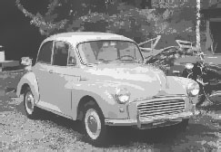 Morris Minor Saloon de Luxe